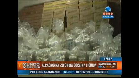 Cocaína líquida é apreendida no Peru - Record News Play - R7 ...