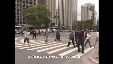 Violência assusta moradores dos Jardins em SP - Notícias - R7 SP ...