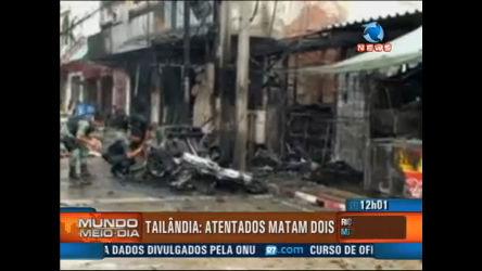 Dois morrem em atentados na Tailândia - Record News Play - R7 ...