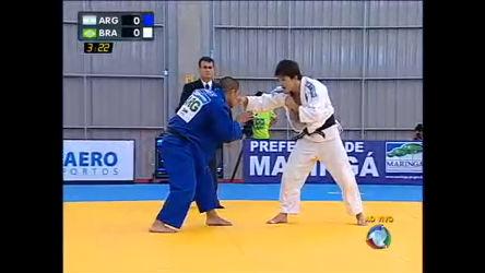 Judô: Brasil enfrenta Argentina no tatame - Esportes - R7 Esporte ...