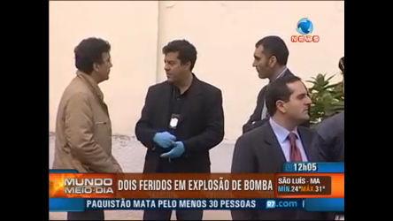 Bomba fere dois em Milão - Record News Play - R7 Mundo Meio- Dia
