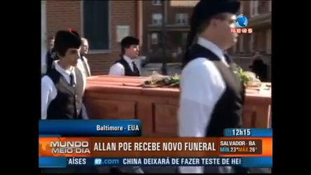 Allan Poe recebe novo funeral - Record News Play - R7 Mundo ...