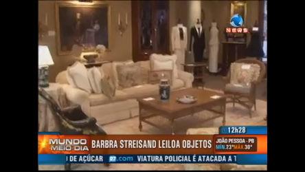 Barbra Streisand leiloa objetos - Record News Play - R7 Mundo ...