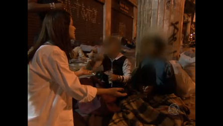 Ana Paula Padrão mostra a realidade das ruas de SP - Notícias - R7 ...