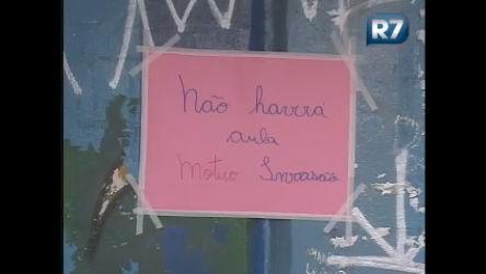 Escola é depredada em São Paulo - Notícias - R7 São Paulo