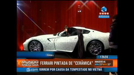 """China lança """"Ferrari de cerâmica"""" - Record News Play - R7 Mundo ..."""