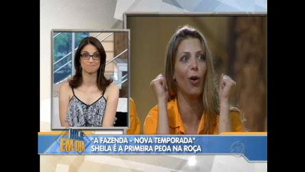 Sheila Mello vai para o Tá na roça - Entretenimento - R7 Hoje em Dia