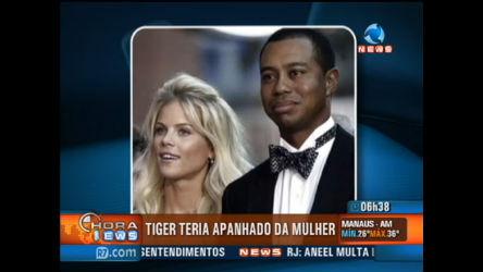 Tiger Woods apanhou da mulher, diz site - Record News - R7 Hora ...