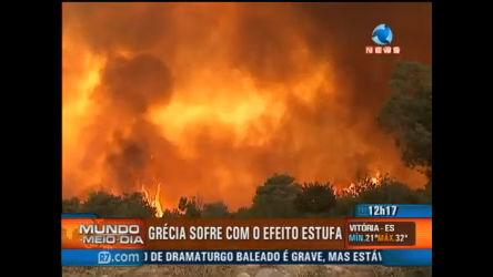 Grécia sofre com alterações climáticas - Record News Play - R7 ...