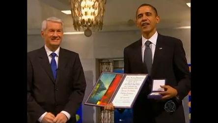 Barack Obama recebe prêmio Nobel da paz em Oslo - Rede Record