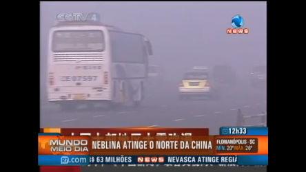 Forte neblina atinge norte da China - Record News Play - R7 Mundo ...