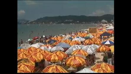 Verão e festas lotam praias de Florianópolis - Notícias - R7 Jornal ...