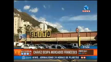 Governo Hugo Chávez ocupa rede francesa de supermercados ...