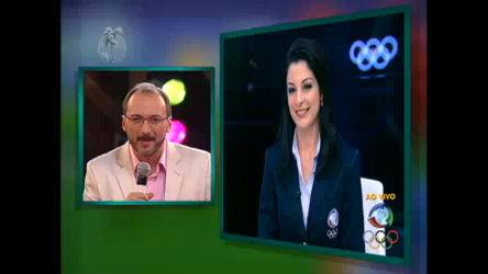 Ana Paula Padrão conversa ao vivo com Britto Jr. na final da Fazenda