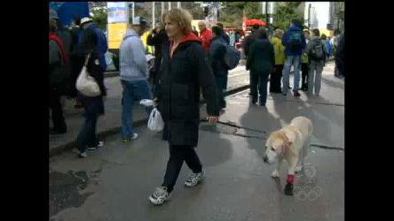 Espírito olímpico toma conta das ruas de Vancouver - Esportes - R7 ...