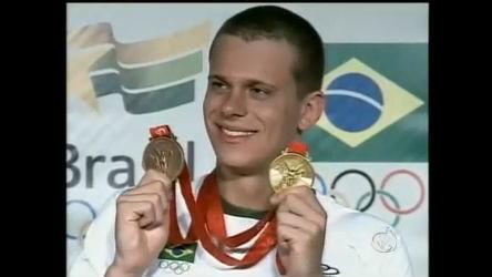César Cielo vai para o Flamengo - Notícias - R7 Jornal da Record