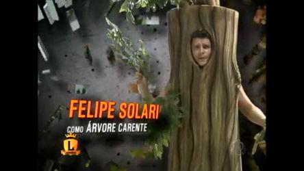 Felipe Solari encarna árvore carente no Legendários ...