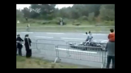 Motoqueiro sofre acidente feio em competição - Entretenimento - R7 ...