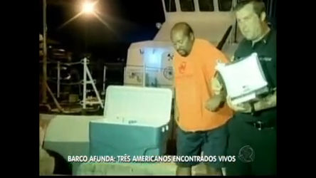 Americanos boiam por três dias em alto- mar após naufrágio e são ...