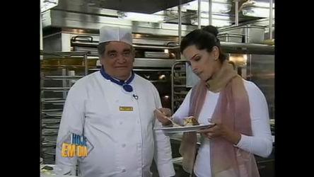 Mariana Leão mostra cozinha de transatlântico - Entretenimento ...