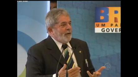 Lula deixa escapar palavrão durante reunião - Notícias - R7 Jornal ...