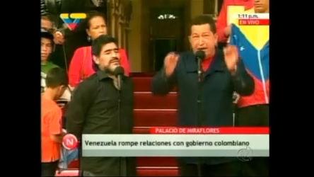 Hugo Chávez rompe ligações diplomáticas com a Colômbia ...