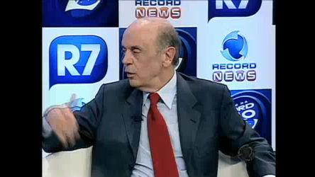 Serra prometeu investir na educação e na eficiência dos órgãos ...
