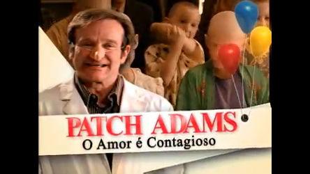 Cine Aventura Tem Patch Adams O Amor é Contagioso Recordtv R7