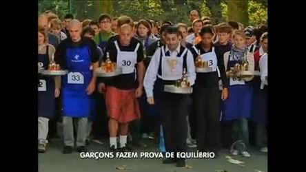 Garçons disputam equilíbrio e agilidade em competição na Bélgica ...