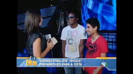 Veja os últimos ajustes para a final do Ídolos 2010 - Entretenimento ...