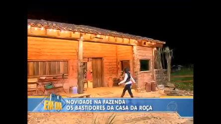 Veja como foi construída a casa da roça de A Fazenda ...