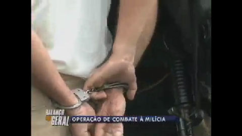 Milicianos são presos no Rio - Rio de Janeiro - R7 Balanço Geral RJ
