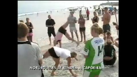 Capoeira fascina estudantes noruegueses em intercâmbio no Brasil ...