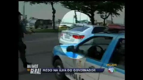 Câmeras flagram tiroteio em blitz na Ilha do Governador (RJ) - Rio ...
