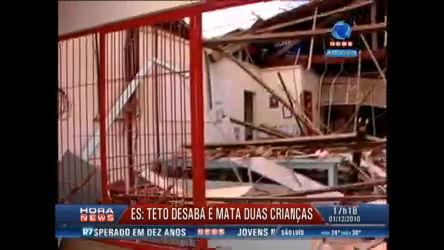 Crianças morrem em desabamento de teto em creche de Cariacica ...