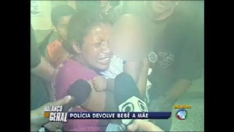 Polícia recupera bebê sequestrado no Rio - Rio de Janeiro - R7 ...