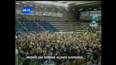 Universidade suspende alunos envolvidos no Rodeio das Gordas ...