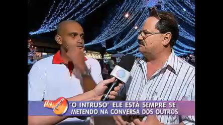 Até em Gramado (RS) O Intruso se mete na conversa dos outros ...
