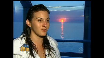 Mariana Leão viaja pelo Mar Mediterrâneo - Entretenimento - R7 ...