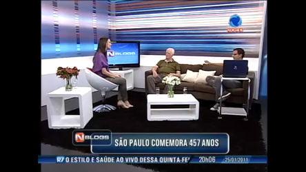 NBlogs comenta aniversário de São Paulo - Record News Play - R7 ...