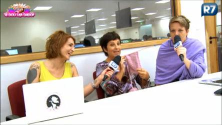 Lele e Clara tricotam com Rosana Hermann no Tricô dos Bróder ...
