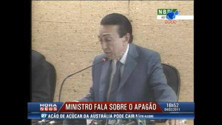 Ministro de Minas e Energia explica apagão no Nordeste - Record ...