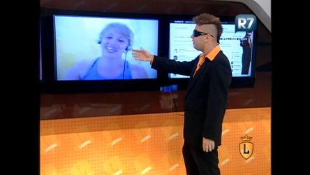 Elcio Coronato bate papo com internauta pelo Skype ...