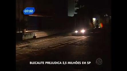 Apagão deixa vários bairros da zona sul de SP sem energia ...
