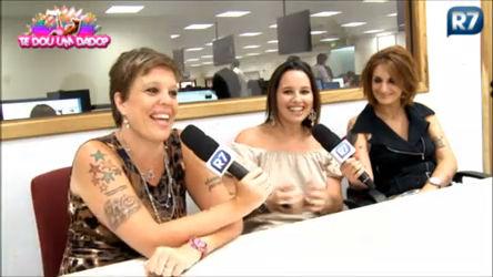 Tricô dos Bróder recebe Mariana Belém - Entretenimento - R7 ...