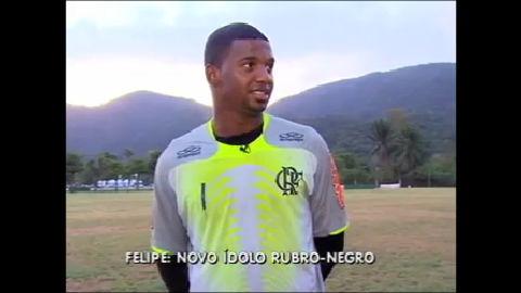Goleiro Felipe vira o novo queridinho da torcida do Flamengo - Rio ...