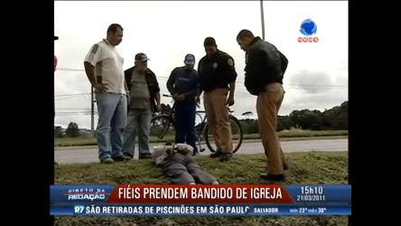 Comerciante prende bandido que roubou igreja no Paraná - Record ...