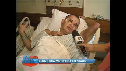 Blogueiro Ricardo Gama afirma que sobreviveu por milagre a ...