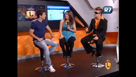 Elcio Coronato recebe apresentadores do Ídolos Online ...