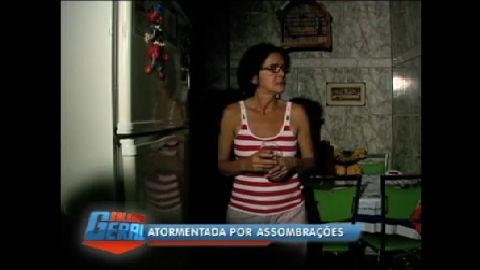 Série Assombração: reportagem visita casa onde mulher enxerga ...